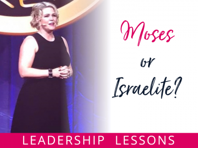 Moses or Isrealite Leadership Lesson